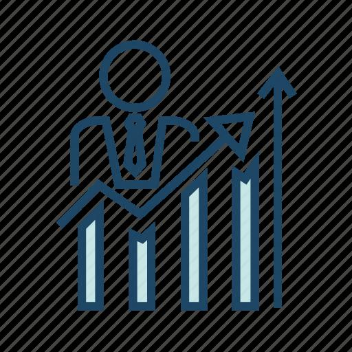 bar chart, data analytics, seo, statistics, utilization data icon