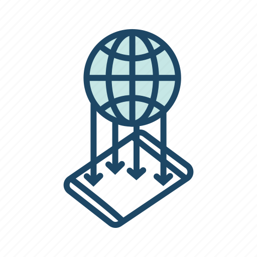 global communication, internet, mobile communication, mobile data transfer, web icon