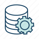 data center, database settingsdata maintainence, preferences, server settings icon