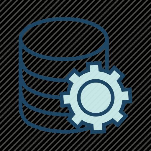 data center, database settingsdata maintainence, preferences, server settings icon