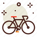 bycicle, movement, outdoor, transport, travel icon