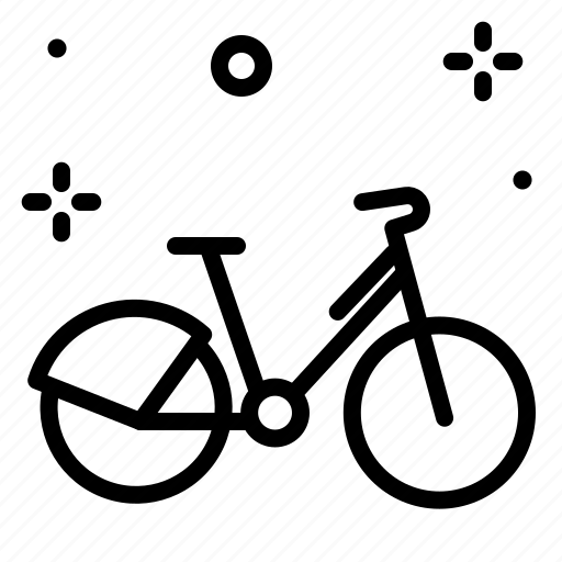 bycicle3, movement, outdoor, transport, travel icon