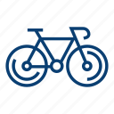 bicycle bicycle, bike, biking, cycling icon