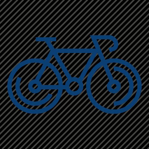 bicycle bicycle, bike, biking, cycling icon