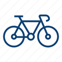 bicycle bicycle, bike, biking, cycling, mountain bike, sport icon