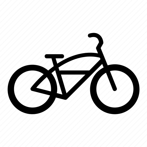 bicycle, bike, bikecons, commuter, cruiser, cycling, sport icon