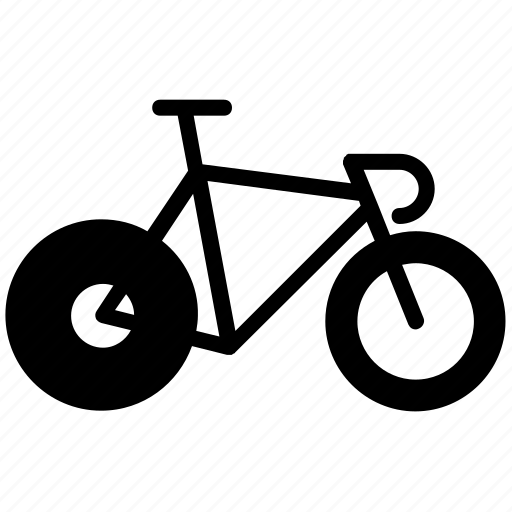 bicycle, bike, bikecons, cycling, sport, track icon