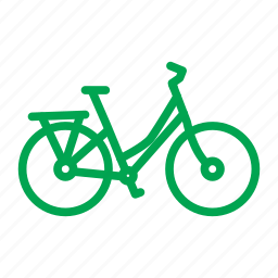 bicycle, bike, cycle, lady bike, sport, travel, vacation icon