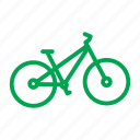 bicycle, bike, cycle, cycling, mountain bike, trail, travel icon