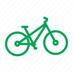 bicycle, bike, cycle, cycling, mountain bike, trail, travel icon