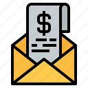 envelope, email, bill, invoice, receipt, payment, pay