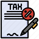taxes, bill, payment, percent, business