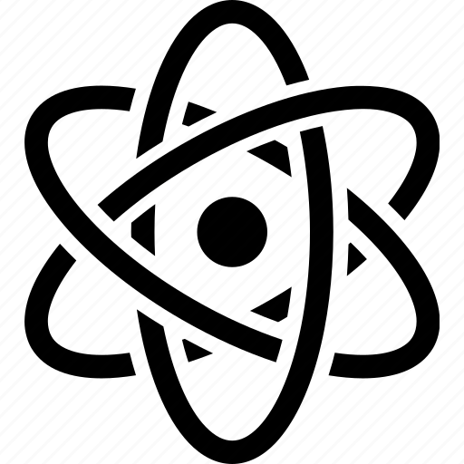atom, atomic, biomedical, electron, molecule, nuclear, proton icon