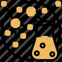 element, microscopic, molecular, nanotechnology, structure icon
