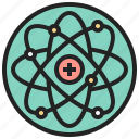 atom, chemistry, nuclear, science, structure icon