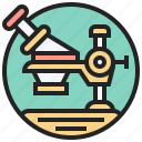 instrument, laboratory, magnify, microscope, scientific