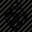 atom, claws, molecule, nanotechnology, robot icon