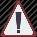 dangerous, alert, warning, caution, stop