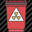 hazardous, waste, radioactive, dangerous, nuclear