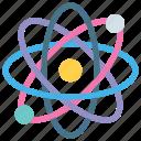 atom, force, magnetize, nucleus, physics, radiation, work
