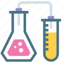 analyze, exam, experiment, human, observe, research, survey icon