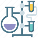 experimentation, laboratory, microscope, reaction, research, sampling, testing
