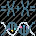 animals, bacteria, chromosomes, dna, food, gene, transgenic icon