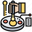 bacteria, biotechnology, culture, laboratory, microbiology icon