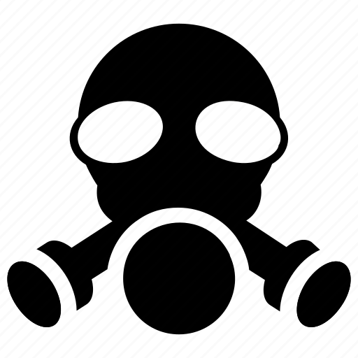 chemical mask, gas mask, industrial mask, protection mask, respirator mask icon