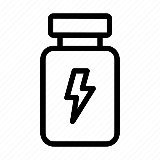 Energy, healthcare, jar, power, proteins icon - Download on Iconfinder
