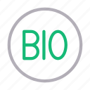 bio, energy, power, science, tag icon