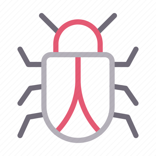 Bug, insect, ladybird, malware, virus icon - Download on Iconfinder