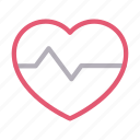 beats, health, heart, life, pulses icon