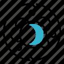 biology, cycle, caviar, molecule, circulate icon