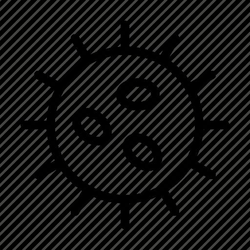 Bacteria, biology, disease, microbe, virus icon - Download on Iconfinder