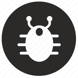 bacterium, biology, bug, look, round, science icon