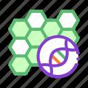 biomaterial, molecular, nanobiotechnology icon