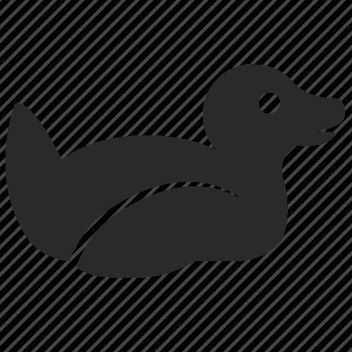 bird, duck, seat, toy, wild icon
