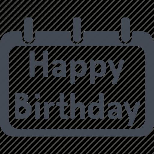 birthday, celebration, decoration, gift, happy birthday, party icon