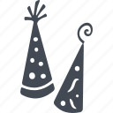 birthday, celebration, decoration, party icon