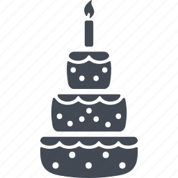 bakery, birthday, cake, celebration, cupcake, dessert icon