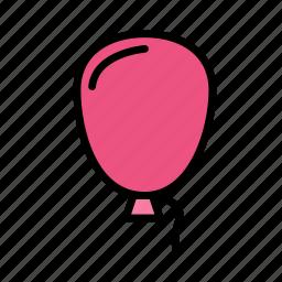 birthday, decorballoon, gift, party icon