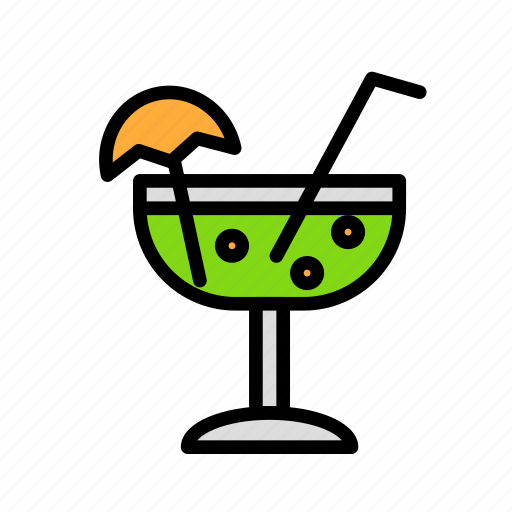 birthday, decorcocktail, gift, party icon