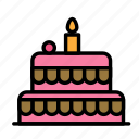 birthday, cake, decorparty, gift, party icon