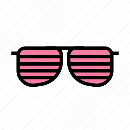 birthday, decorparty, gift, glasses, party icon
