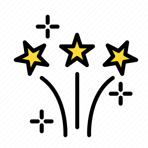 birthday, decorparty, gift, lights, party icon