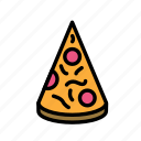 birthday, decorpizza, gift, party icon