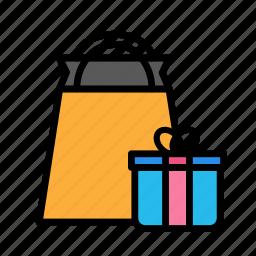 birthday, decorpresents, gift, party icon