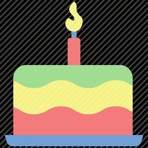 birthday, birthday-cake, cake, celebrate, congratulations, hope, party icon