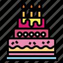 baker, birthday, cake, dessert, sweet icon